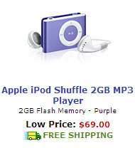 Buy iPod Shuffle Online With Free Shipping