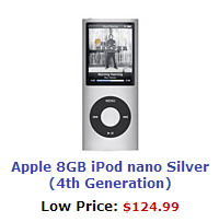 Apple iPod Nano Silver