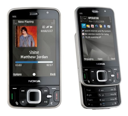 Nokia N96 Cell Phone