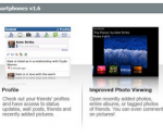 Keeping in Touch on Blackberry Smartphones through Facebook