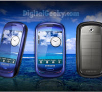 Samsung's Eco-Friendly Mobile Phone Blue Earth Review