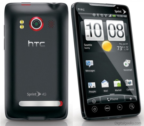 HTC EVO 4G Android Smartphone
