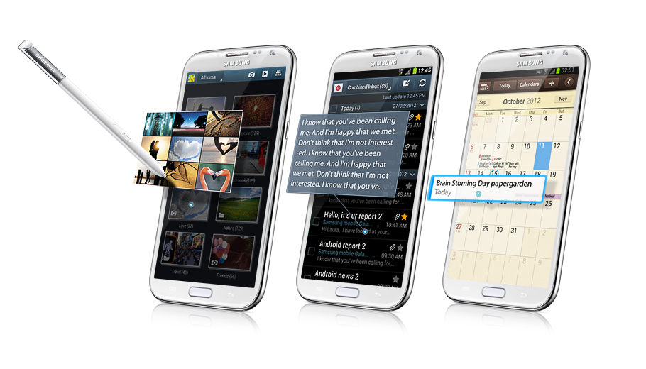 samsung galaxy note 2 hardware spec