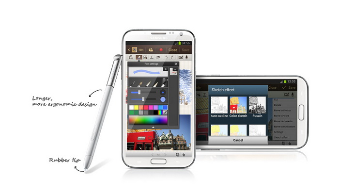 samsung galaxy note 2 s pen