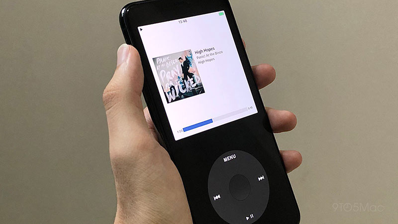 ipod classic features