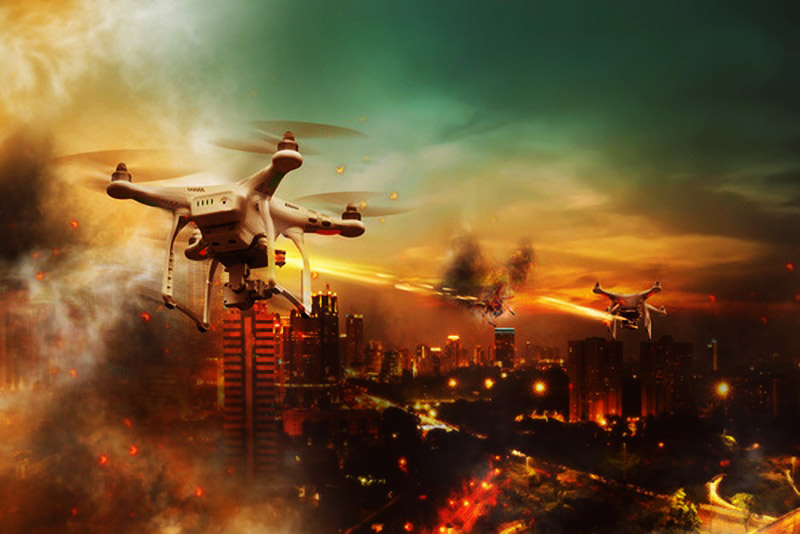 the imaginative future of drone
