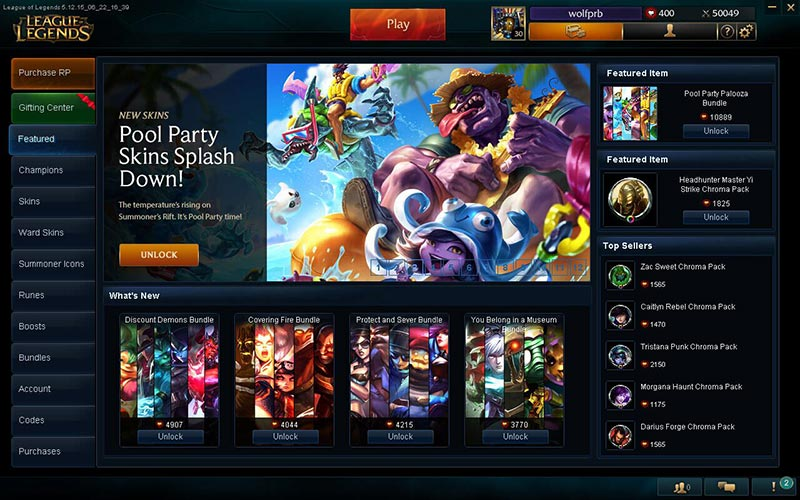 tips for buying league of legends accounts 2