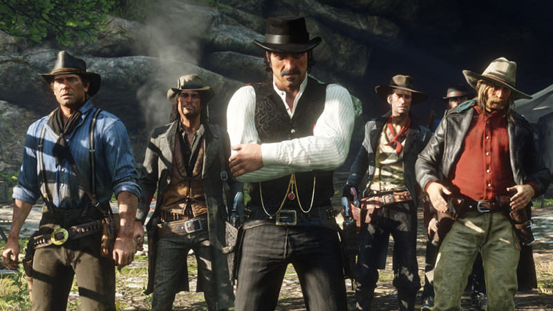 red dead redemption 2 visually stunning video game 2