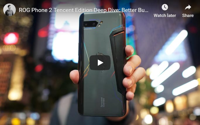 asus rog phone 2 video review