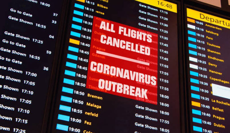 covid 19 travel banned