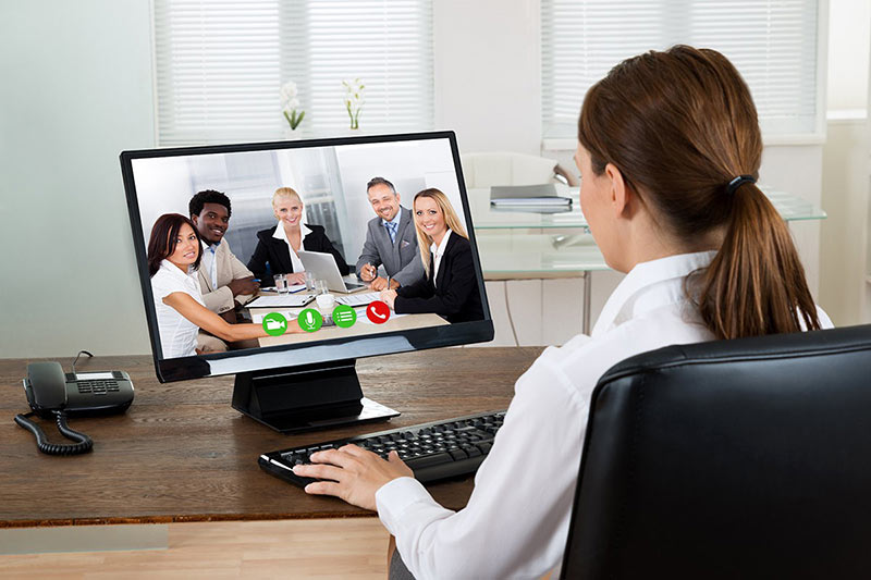 corporate meeting online