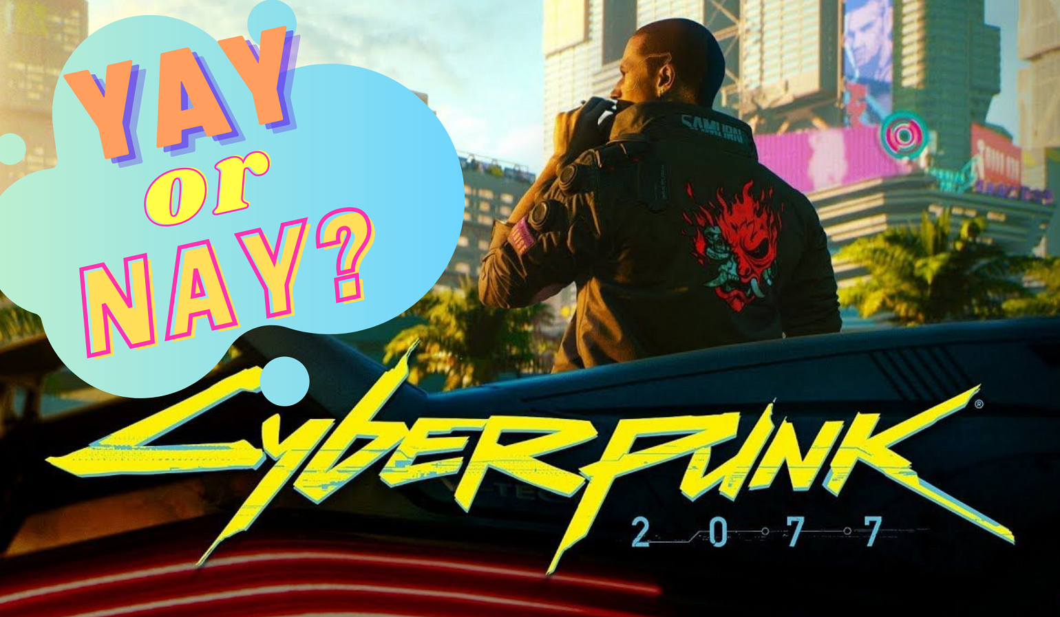 cyberpunk 2077 disaster on release