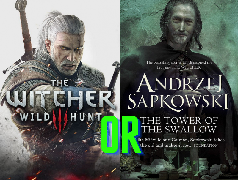 do witcher games actually stay true to the books