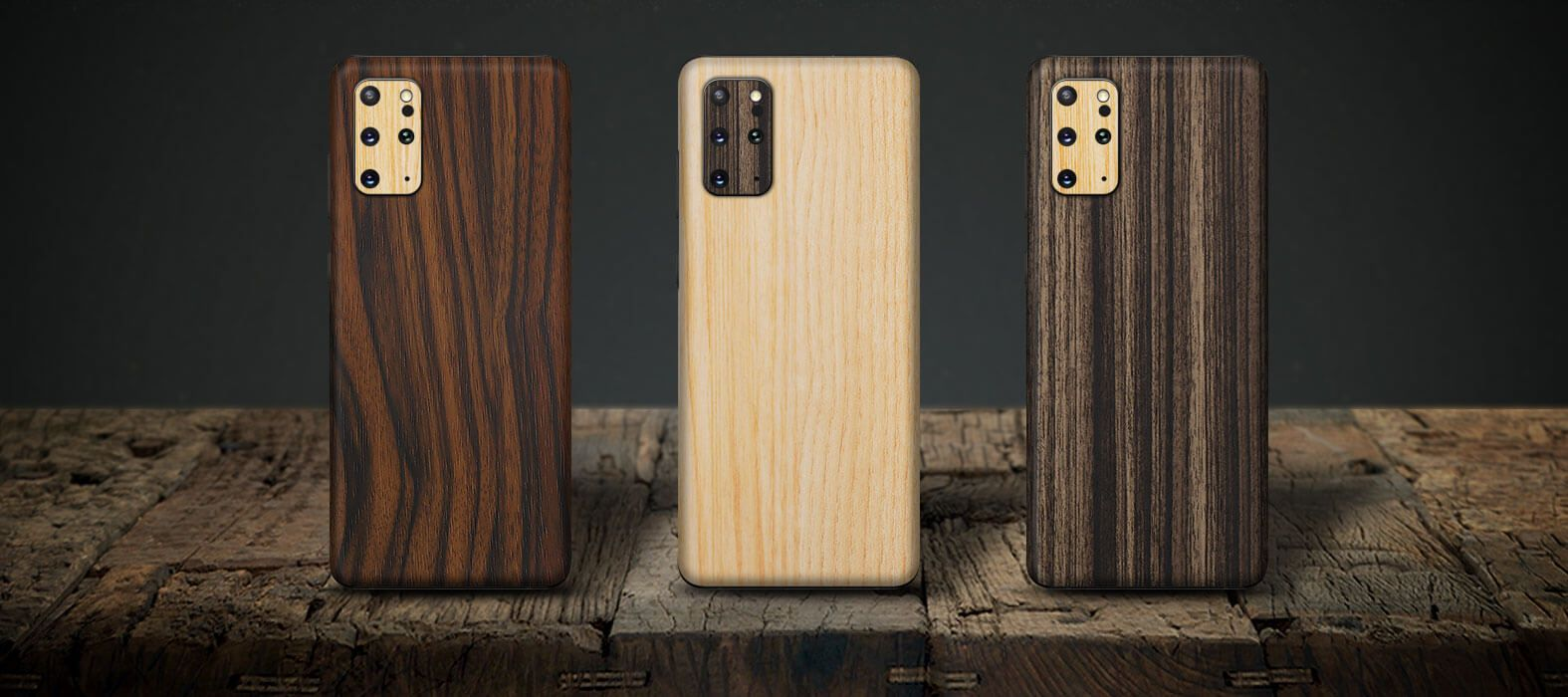 Wood Cases for Samsung Galaxy S20 Plus